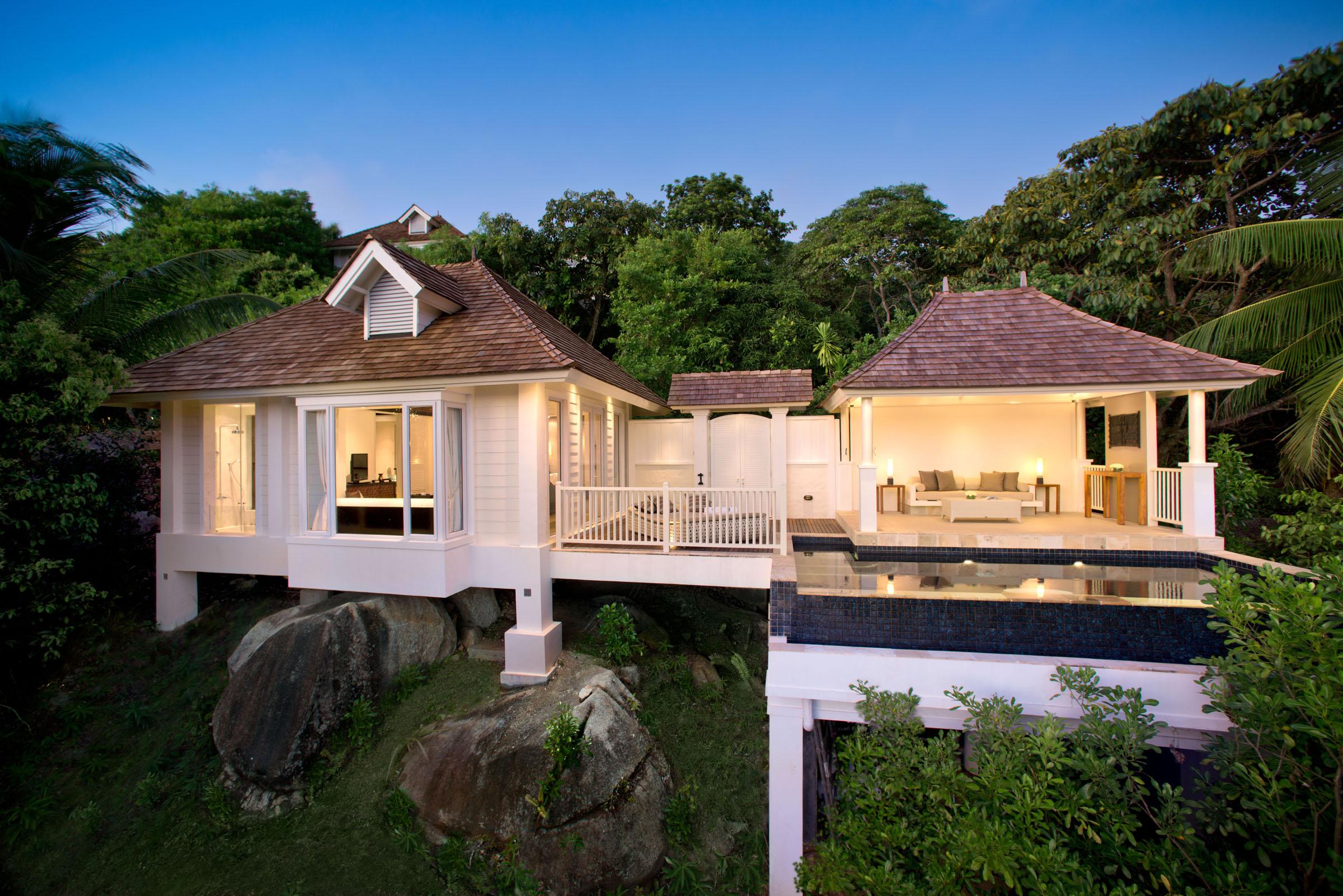 Banyan tree seychelles mah i genuss touren for Villa jardin seychelles