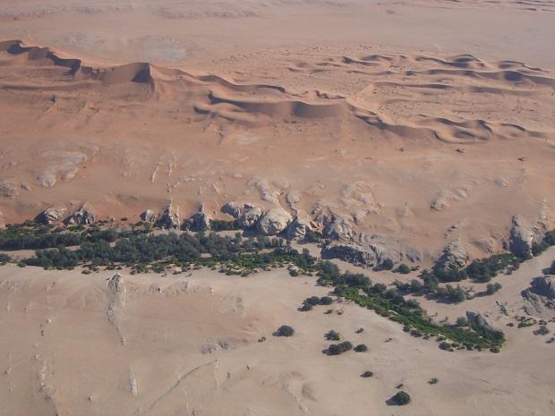 Kuiseb Canyon an der Grenze zur Namib