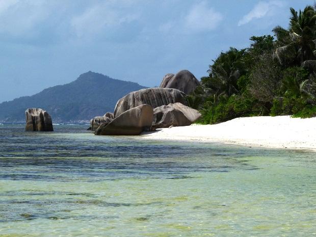 Schwimmen an der Anse Source D'Argent (1)