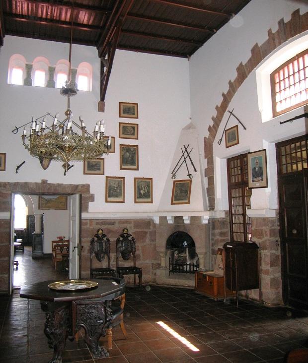 Rittersaal von Schloss Duwisib