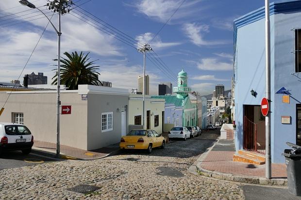 Moschee im Bo-Kaap Viertel