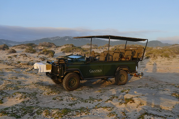 Grootbos - Sundowner am Strand