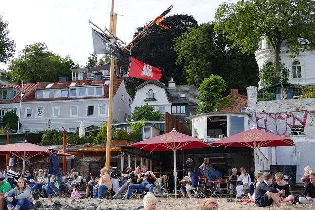 Kultrestaurant Strandperle in Hamburg