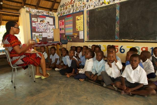Klassenzimmer von Tujatane