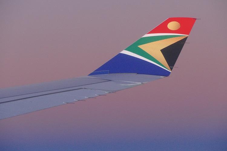 Flug mit der SAA nach Mauritius