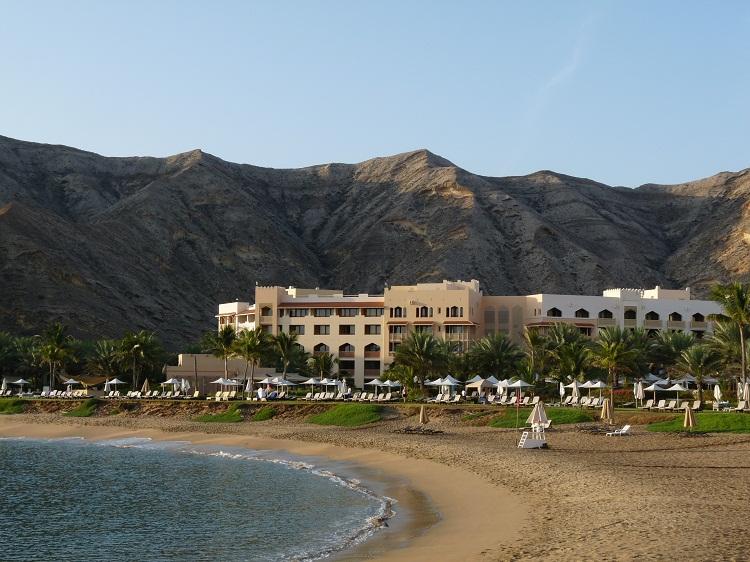 Strand des Barr Al Jissah