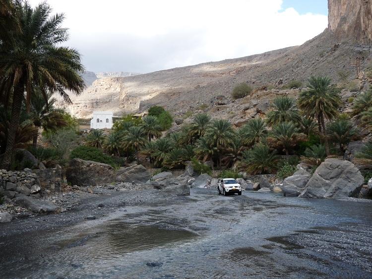 Dorf im Hajar Gebirge