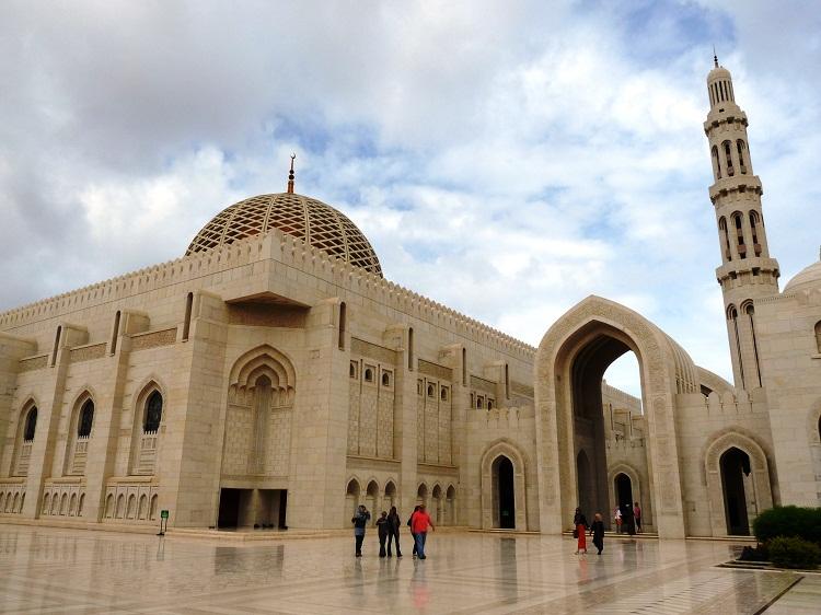 Grande Mosque in Muscat