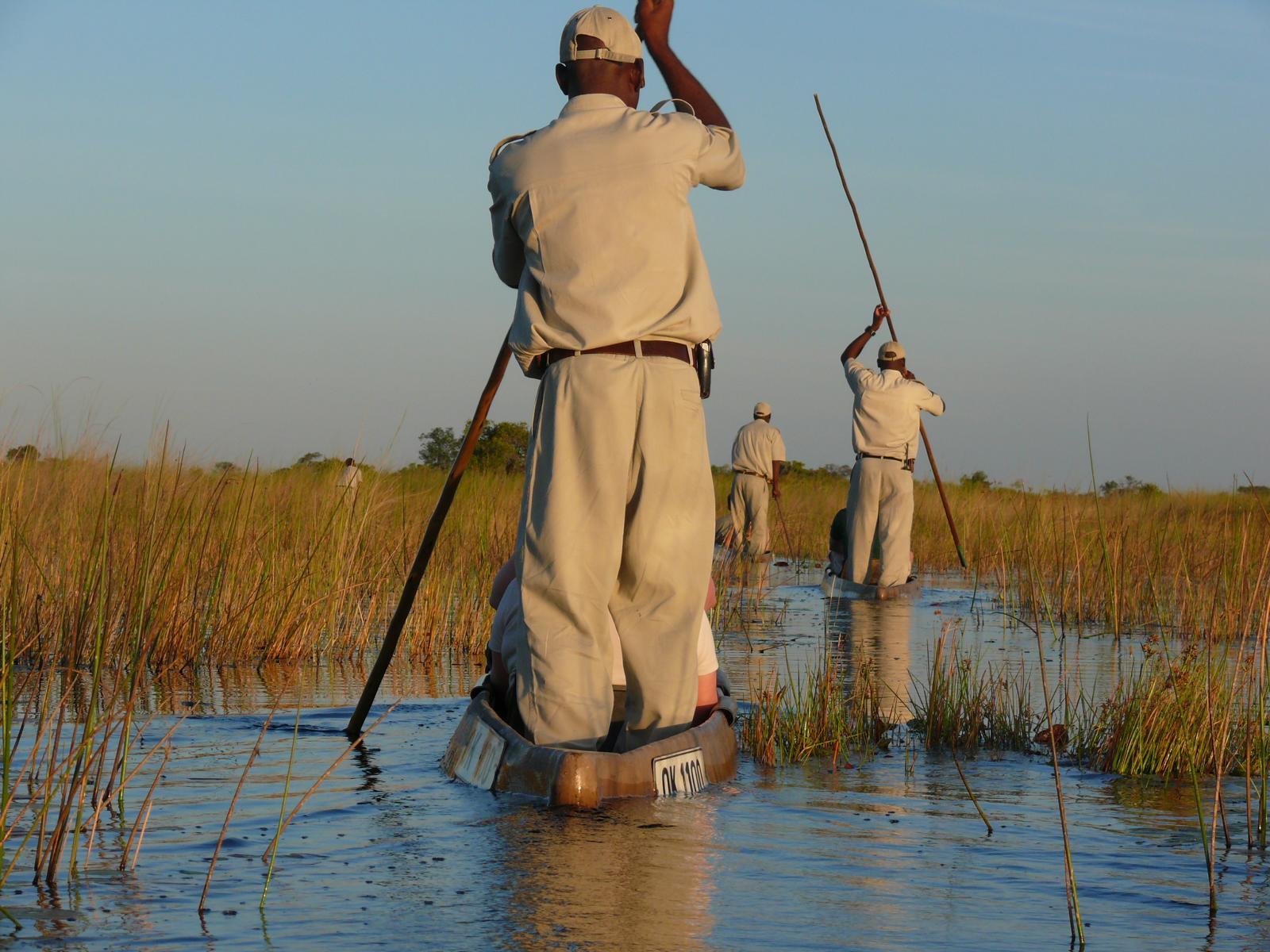 Mokorotour im Okavango Delta