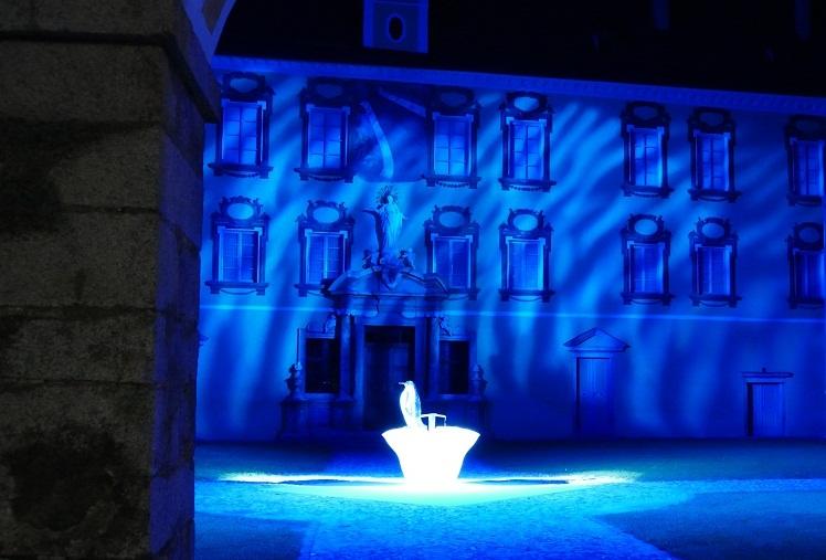 Wasser Licht Festival Brixen Installation Hofburg