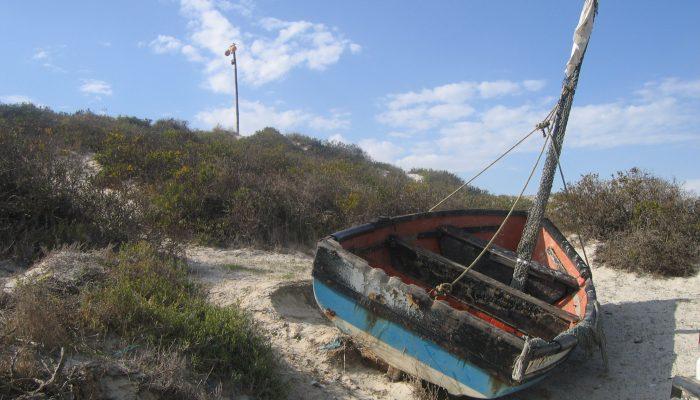 Langebaan an einem herrlichen Strand an der Westküste von Südafrika