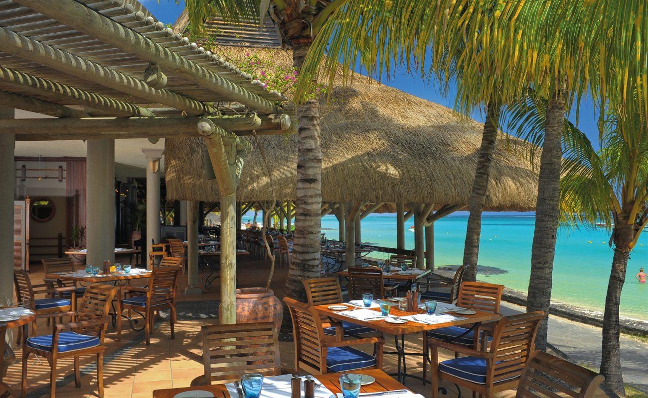 Feine Meeresfrüchte im Restaurant Blue Malin des Beachcomber Hotel