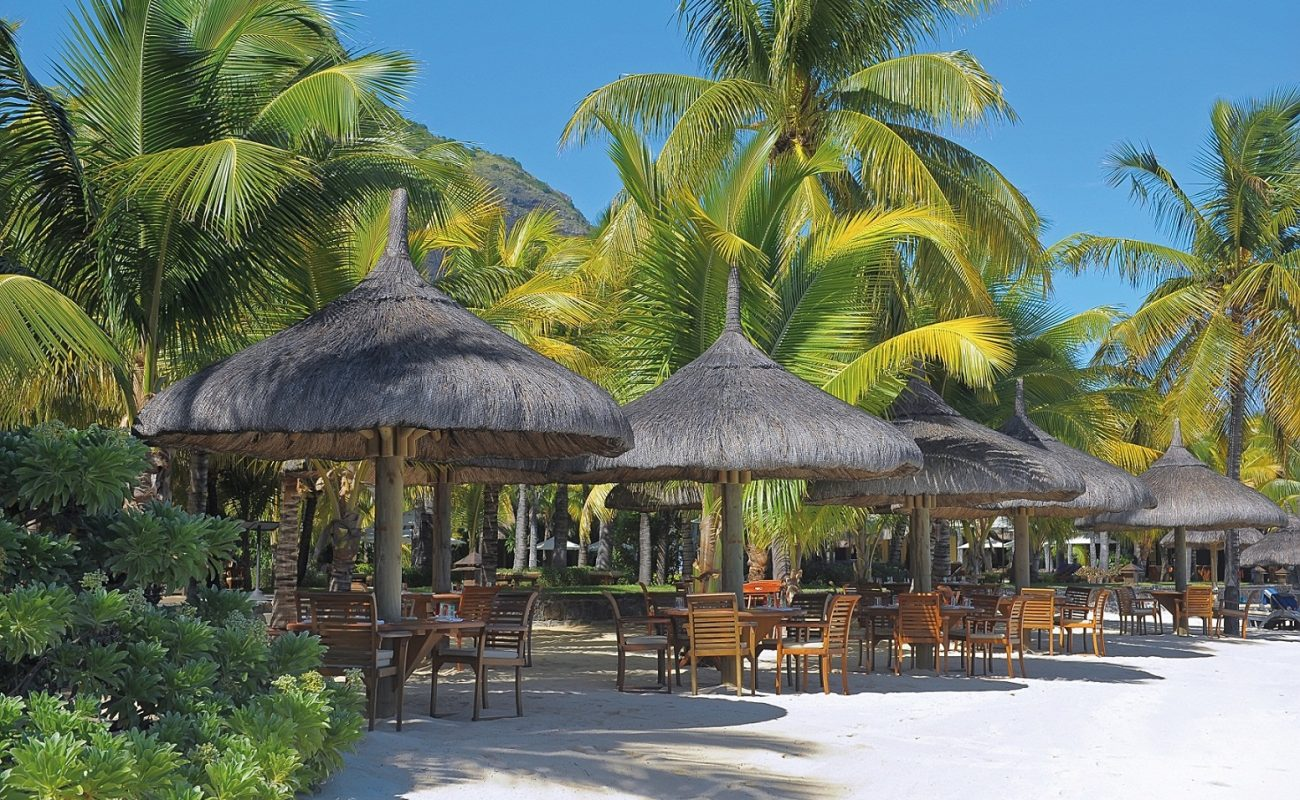 Palma Beach Restaurant am Strand des Paradis
