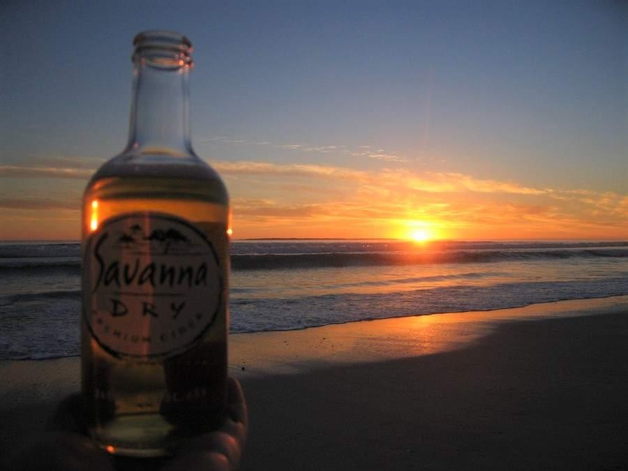 Savanna - der perfekte Drink für einen Sonnenuntergang in Südafrika