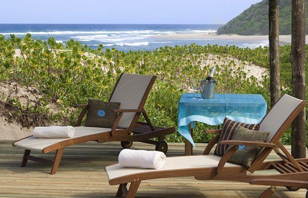 Sommerurlaub am Strand in Südafrika