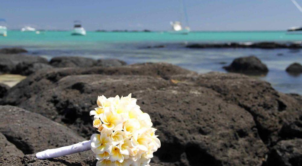 Hochzeitsfotos auf Mauritius