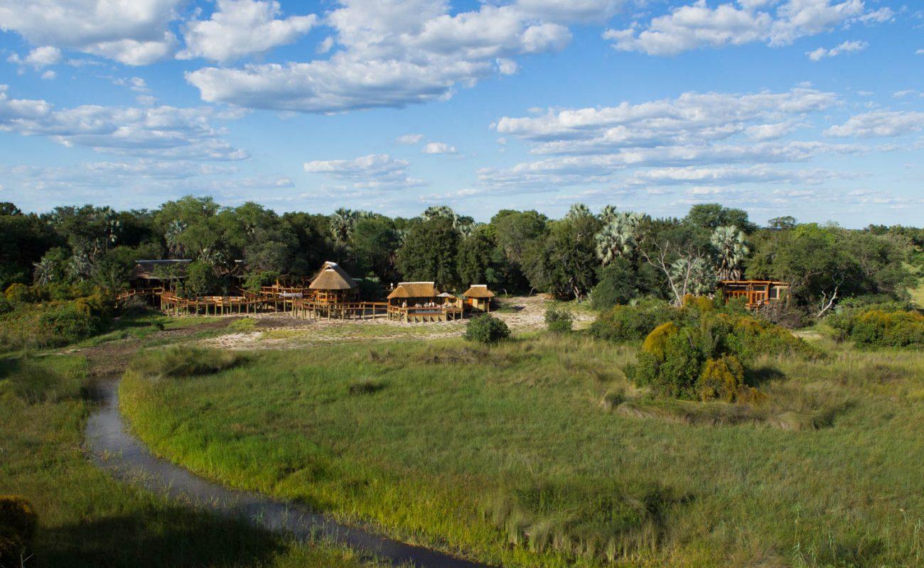 Camp Okavango auf der Nxaragha Insel