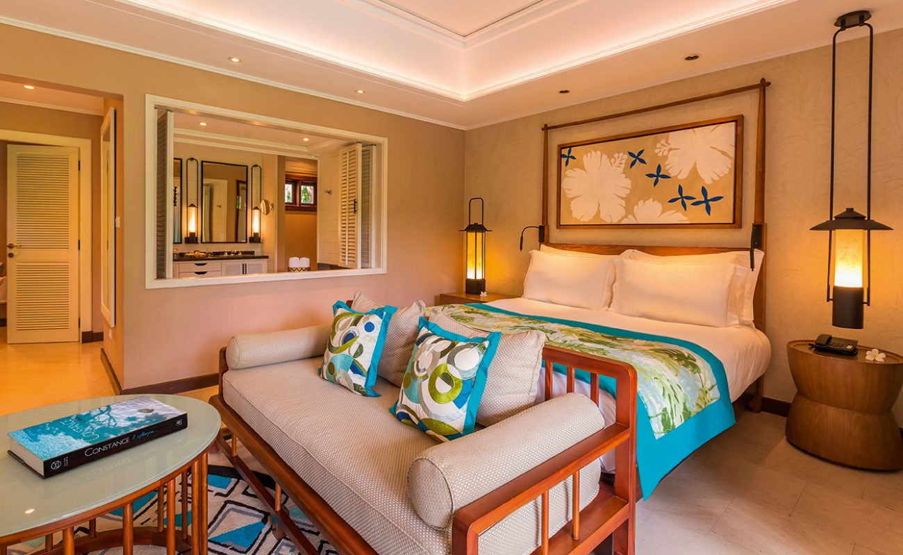 Die elegante Junior Suite des Luxusresorts