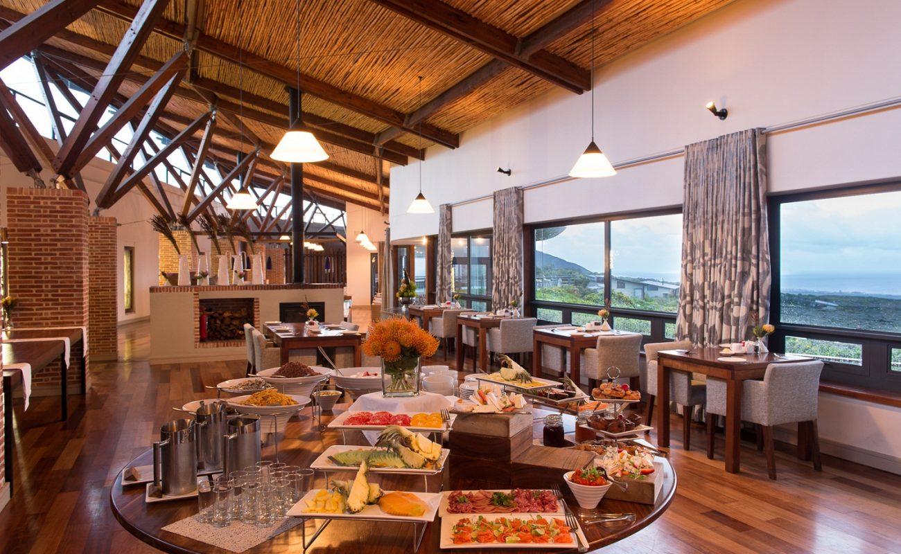 Grootbos Forest Lodge Frühstück im Red Indigo Restaurant