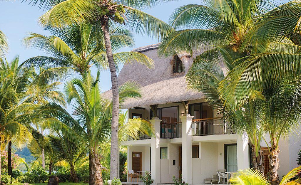 Deluxe und Ocean Beachfront Zimmer im Beachcomber Hotel auf Mauritius