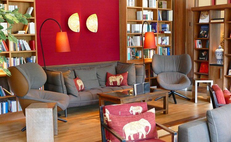 Lounge des Retreats im Schloss Elmau