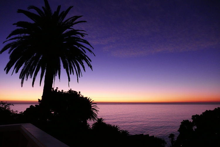 Sonnenuntergang in Camps Bay
