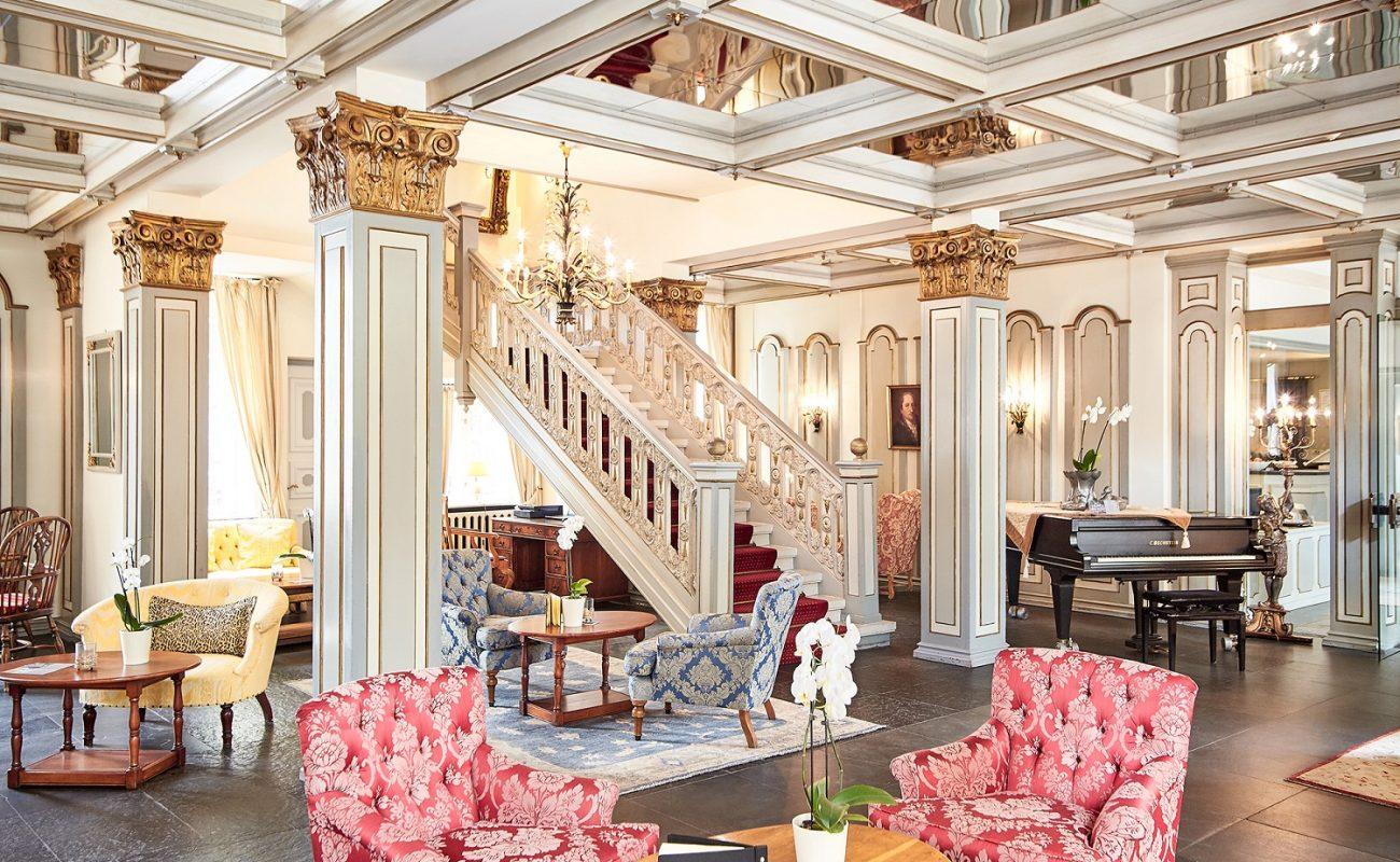 Barocktreppe im Foyer des Fürstenhof Celle
