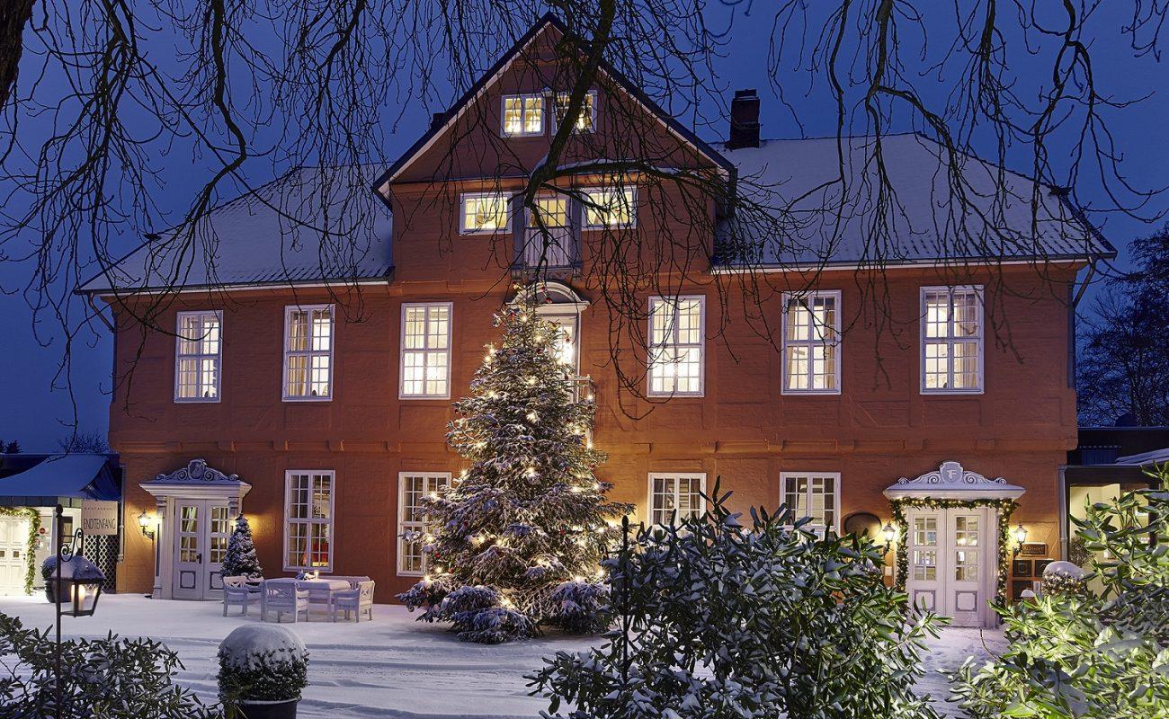 Althoff Fürstenhof Celle im Winter