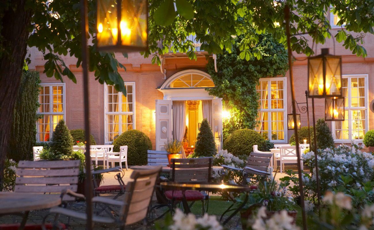 Kastaniengarten im Althoff Luxushotel