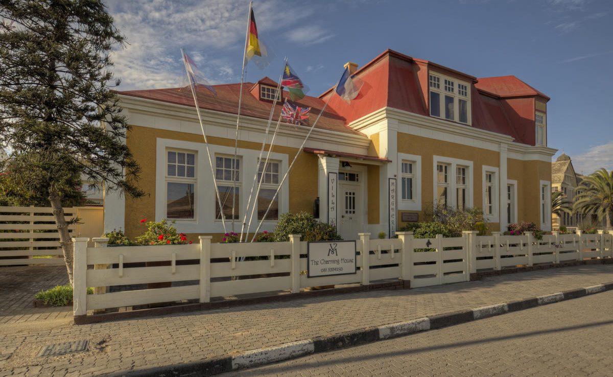 Luxusgästehaus in Swakopmund - Ausklang ihrer Namibia Rundreise mit Genuss Touren