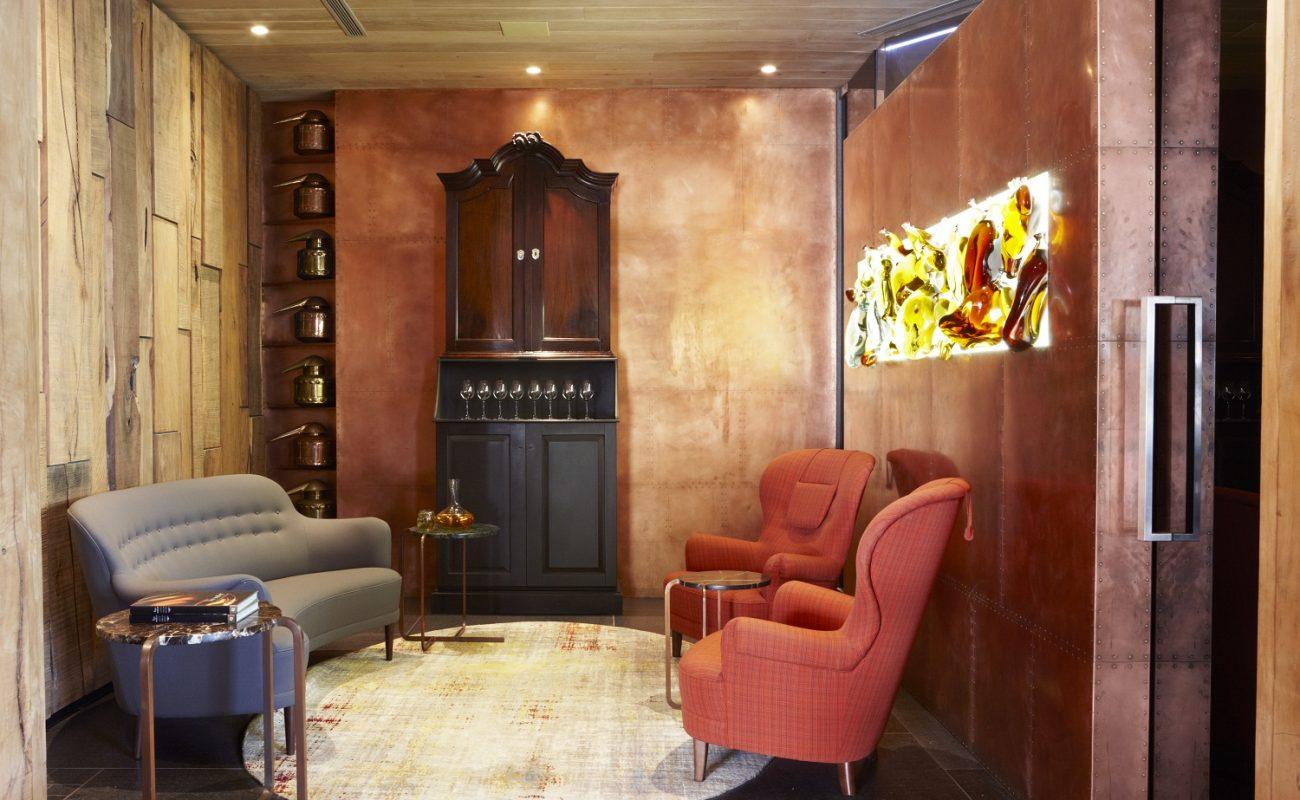 Brandy Lounge im Relais & Chateaux Hotel in Bantry Bay