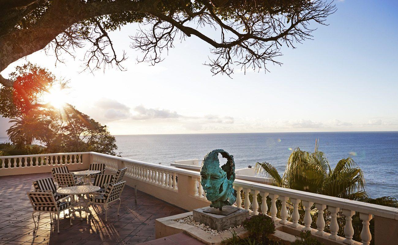 Blick auf den Atlantik von Ellerman House