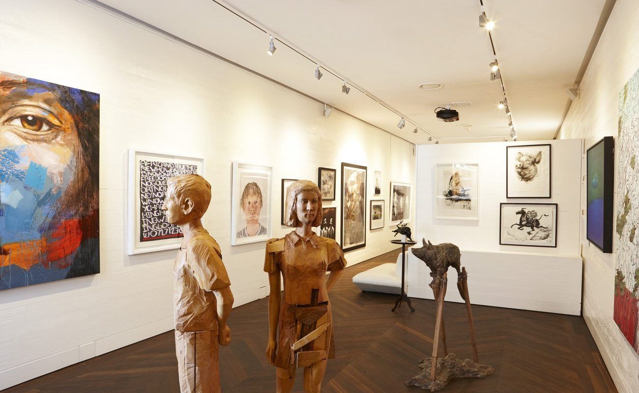 Kunstgalerie im Ellerman House