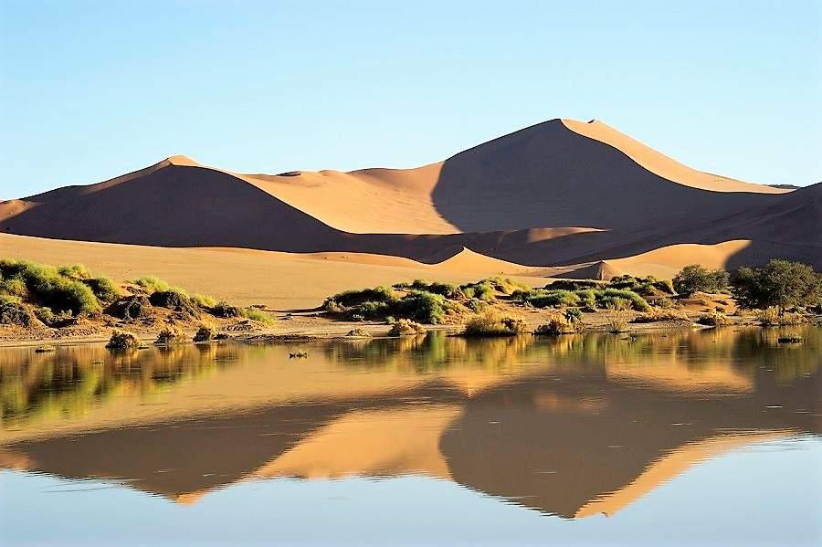 Sossusvlei im November und Dezember - Wilderness Safaris