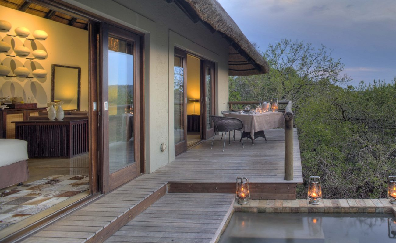 Suite in der Phinda Mountain Lodge