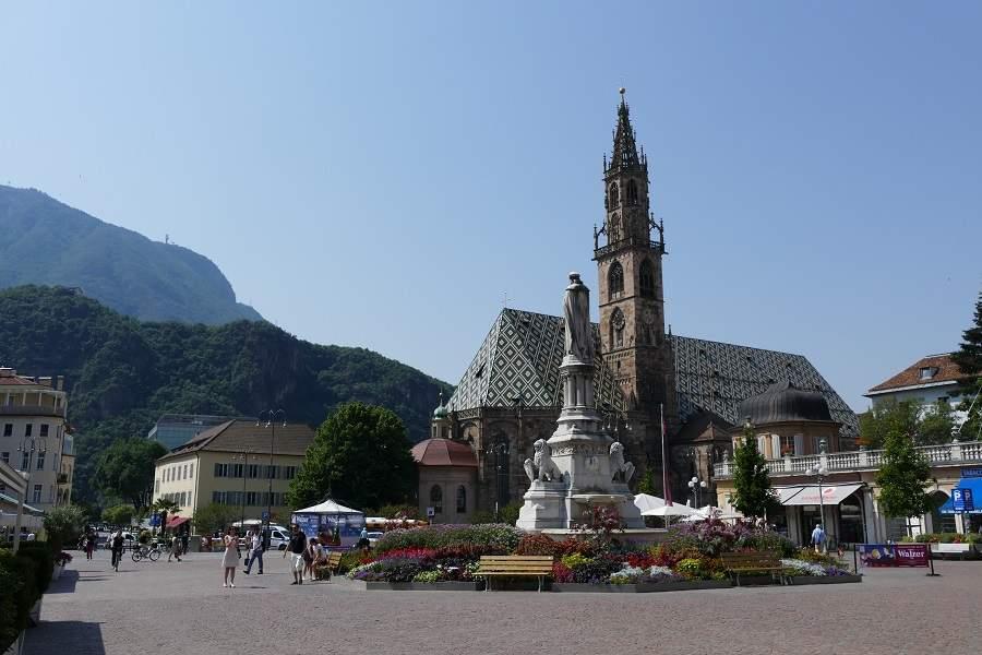 Walterplatz in Bozen