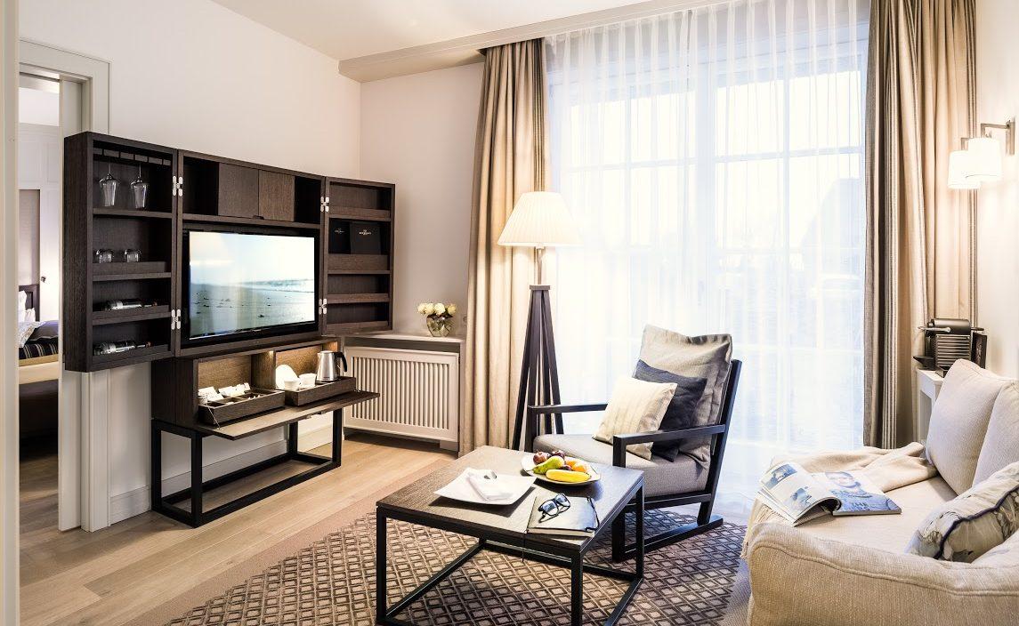 Deluxe Doppelzimmer im Sylter Luxushotel