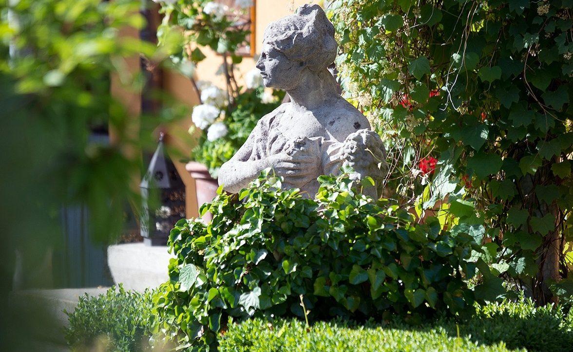 Italienisches Flair im Garten des Villino