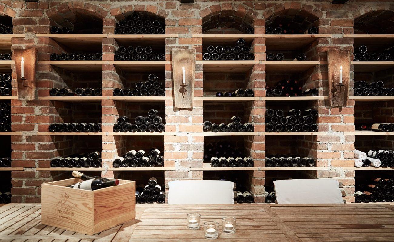 Weinkeller des Hotel Villino