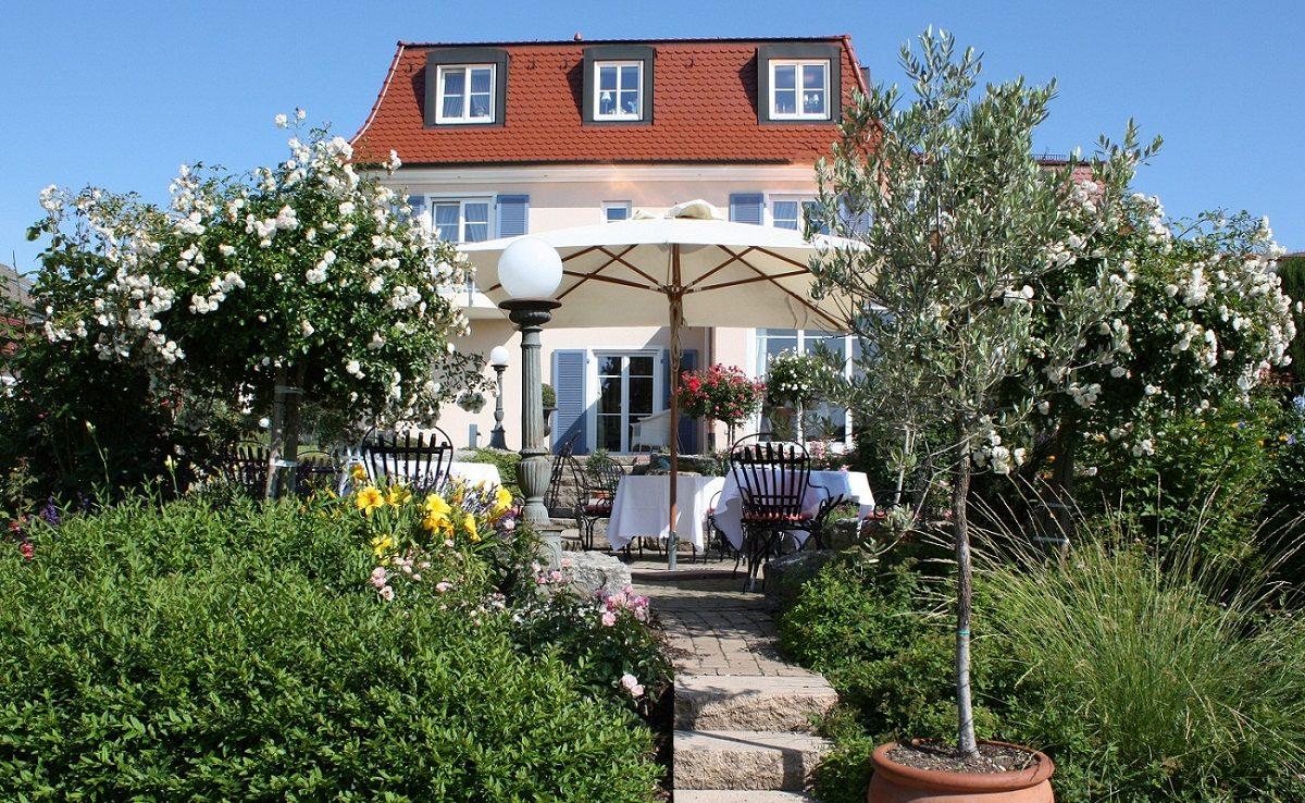 Garten der Villa Seeschau