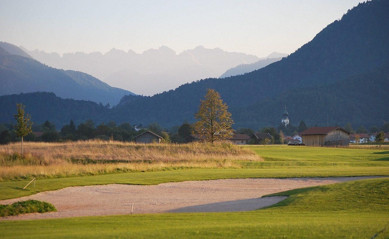 Der spektakuläre Golfplatz - ideal für Ihren Golfurlaub am Chiemsee