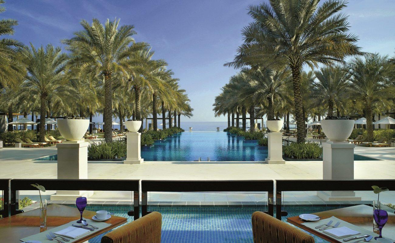 Das Restaurant Al Khira des Ritz Carlton Hotels