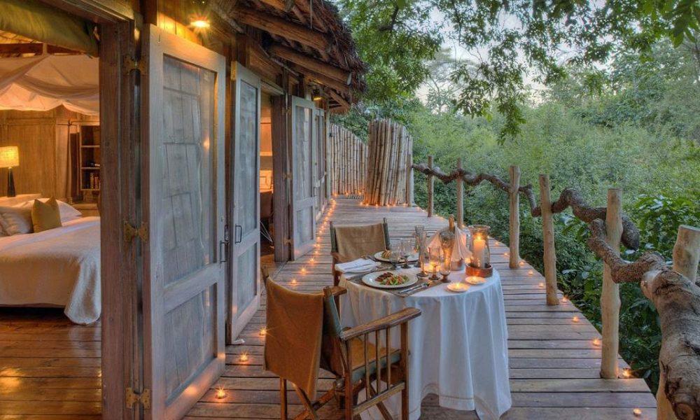 Buchen Sie die Lake Manyara Tree Lodge mit Tansania Spezialist Genuss Touren