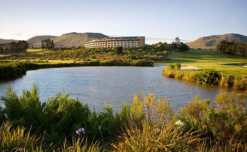 Arabella Hotel in der Nähe von Hermanus - vor allem von Golfern sehr geschätzt