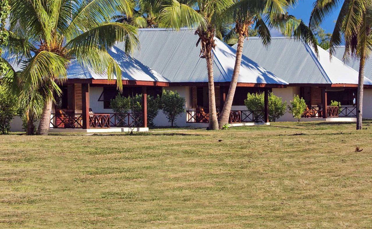 Eine Lodge auf Bird