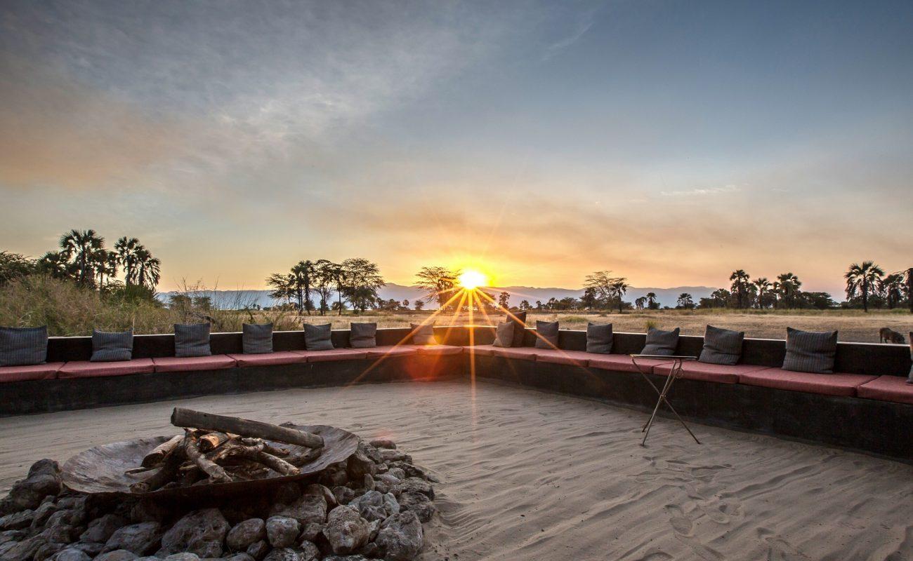 Für romantische Abende im Camp: Lagerfeuer