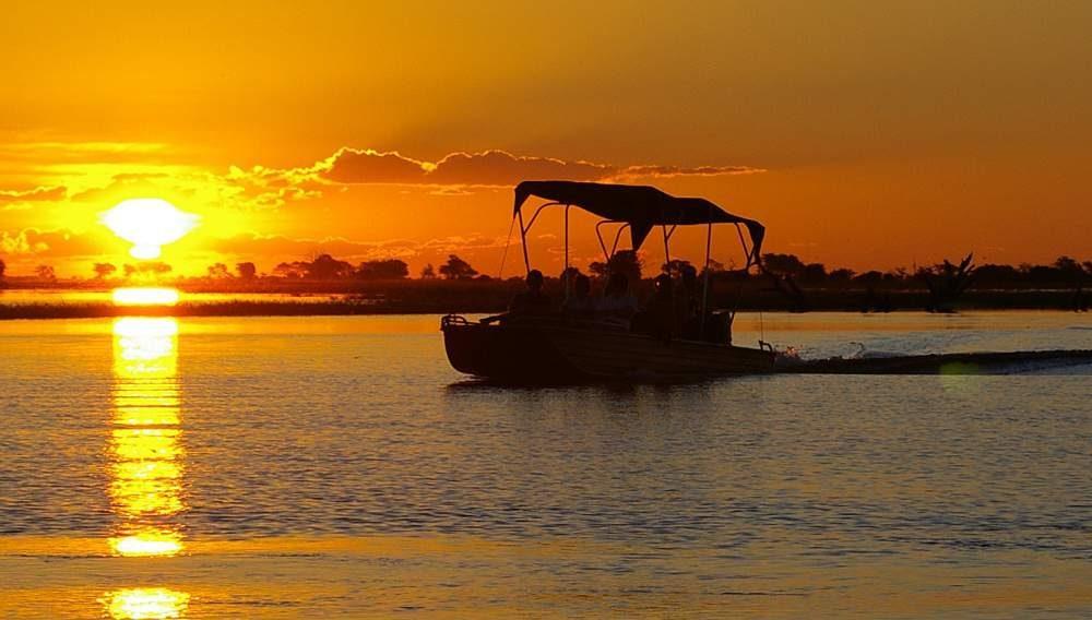 Auf Safari im Chobe in Botswana mit Genuss Touren