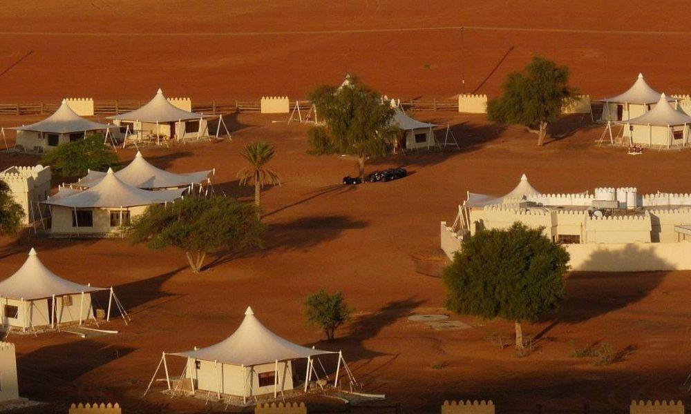 Desert Night Camp in den Wahiba Sands im Oman - buchen Sie das Luxuscamp mit Genuss Touren