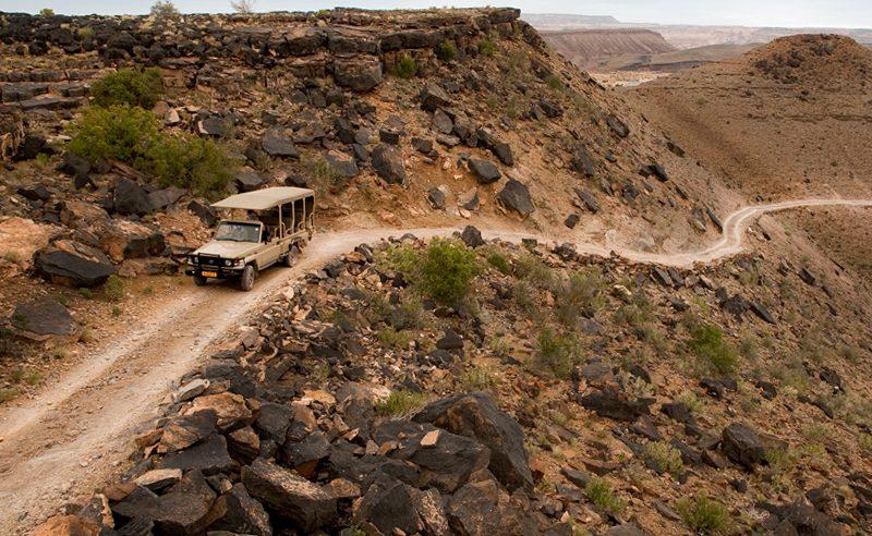 Ausflug mit dem Geländewagen in den Fish River Canyon