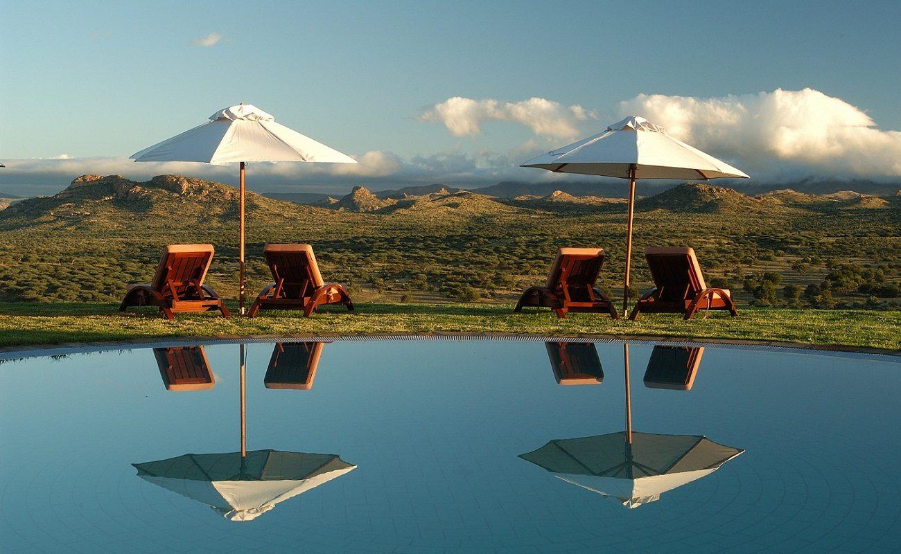 Entspannung am Infinity Pool in GocheGanas
